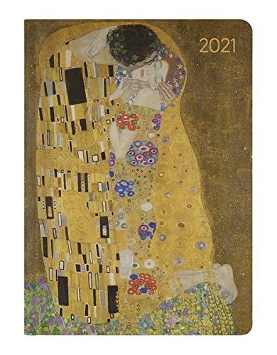 Ladytimer Klimt 2021 - Taschenkalender A6 (11x15 cm) - Weekly - 192 Seiten - Notiz-Buch - Termin-Planer - Alpha Edition