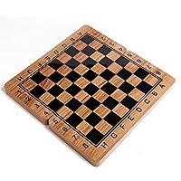 チェスセット、チェスセット折りたたみ式木製国際チェスセットピースセットボードゲーム面白いゲームチェスマンコレクションポータブルボード旅行ゲーム(知的思考演習)