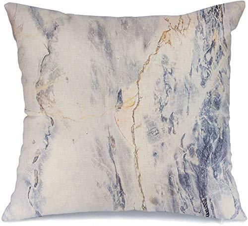 Decoración Throw Pillow Cover Efecto de la funda de cojín Mármol gris Artesanía Patrón de piedra creativo Mancha Nivel de baldosas Textura Naturaleza Diseño Texturas Funda de Cojine 45 X 45CM