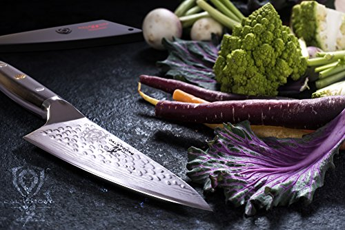 DALSTRONG Chef's Knife - Shogun Series - Damascus - Japanese AUS-10V Super Steel - Vacuum Treated (6