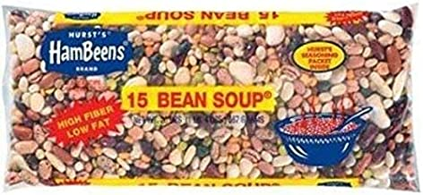 Hurst's HamBeens 15 Bean Soup with Seasoning Packet (2 Pack) 20 oz Bags