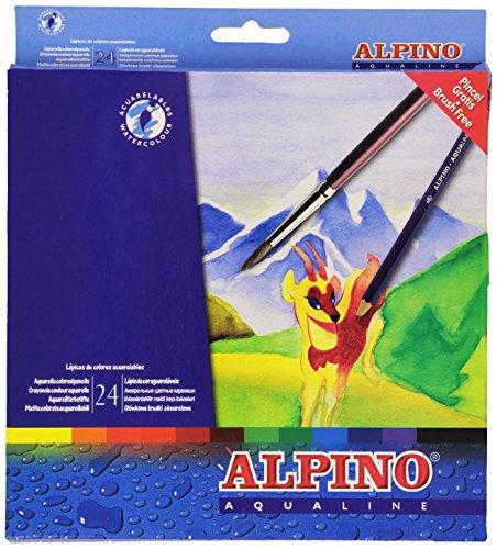 Alpino AL000131 - Pack de 24 lápices, multicolor