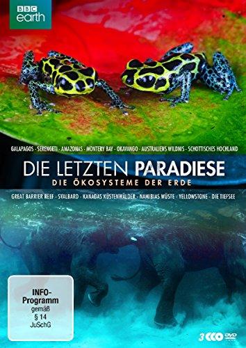 Die letzten Paradiese - Die Ökosysteme der Erde [3 DVDs]