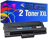 PlatinumSerie® 2X Cartuchos de tóner Compatible con Samsung MLT-D1092S Black SCX-4300 SCX-4300 K SCX-4301 K SCX-4310 K SCX-4315 K SCX-4610