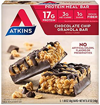 5 Count Atkins Protein Meal Bar, Keto Friendly