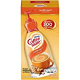 Nestle Coffee mate Coffee Creamer, Hazelnut, Liquid Pump Bottle, 50.7 Ounces
