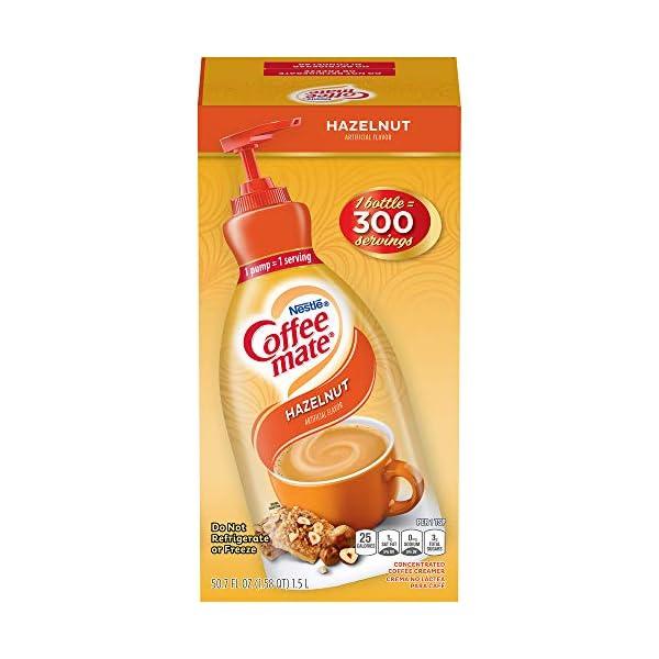 Coffee Mate Hazelnut Liquid Pump Creamer