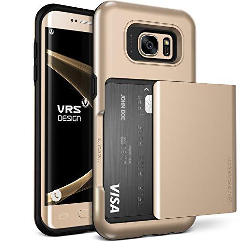 iPhone6 Plus ケース VERUS Damda Slide カードケース 搭載 プラスチック + TPU ハードケース for Apple iPhone 6 Plus 5.5 インチ 2014 シャインゴールド 【国内正規品】
