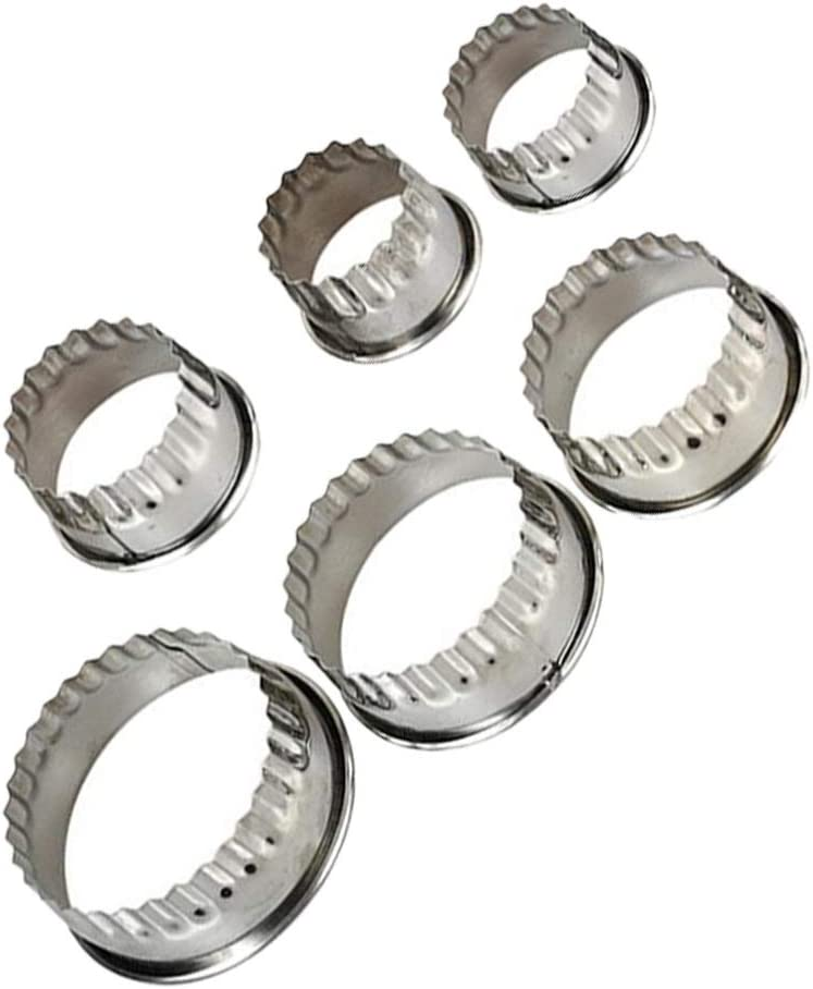 HEMOTON Cake Rings Molds Round Super Special Be super welcome SALE held Mousse Mould Stainless Steel