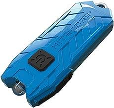 NITECORE Tube-AZU Nitecore Tube USB Rechargeable LED Keylight Pocket Keychain Flashlight (Azure), Youth-Unisex