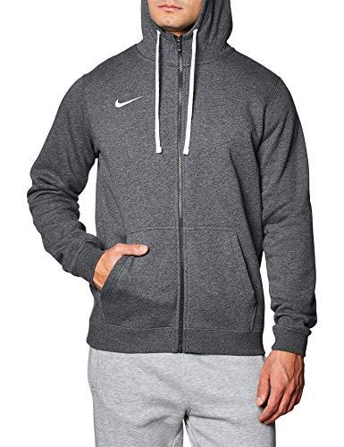 Nike FZ FLC Tm Club19, Felpa Uomo, Grigio Antracite/Antracite/Bianco/Bianco, L