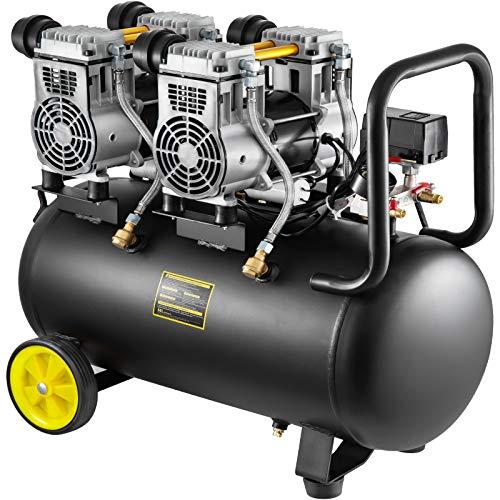 Mophorn Compresor de Aire sin Aceite 68DB