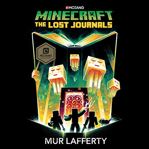 Minecraft: The Lost Journals audiobook cover art