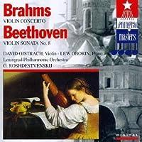 Violin Concerto / Sonata for Violin & Piano 8 by Brahms