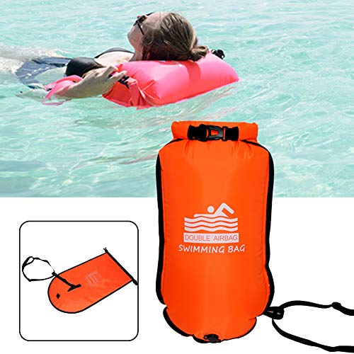 Fantastic Prices! dgyl88 Swim Buoy Dry Bag,Swim Buoy,Highly Visibility Ultralight Inflatable Dry Bag...