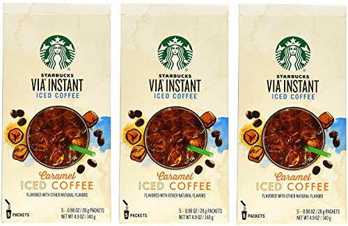 Starbucks Via Ready Brew Iced Caramel Coffee (15 Count)