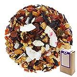 Núm. 1409: Té de frutas 'Piña colada virgen' - hojas sueltas - 250 g - GAIWAN® GERMANY - manzana, rosa mosqueta, hibisco, hojuelas de coco, piña