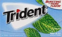 Mondelez Global Trident Mint Bliss 14 ct [並行輸入品]