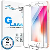 KATIN iPhone SE 2020 Screen Protector - [2-Pack] for Apple iPhone SE 2020, iPhone 8, iPhone 7, iPhone 6S, iPhone 6 [4.7-inch] (Japan Tempered Glass) No-Bubble, 9H Hardness, Easy to Install
