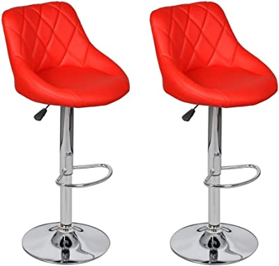 vidaXL 30x Essstuhl Stapelbar Stoff Rot Küchenstuhl Esszimmerstuhl Stuhlset