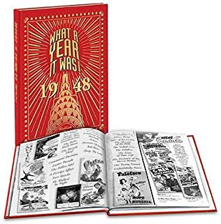 1948 What A Year It Was: 71st Birthday or 71st Anniversary Hardcover Coffee Table Book