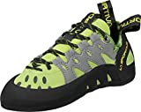 La Sportiva Men's TarantuLace Performance Rock Climbing Shoe, Kiwi/Grey, 43.5 M...