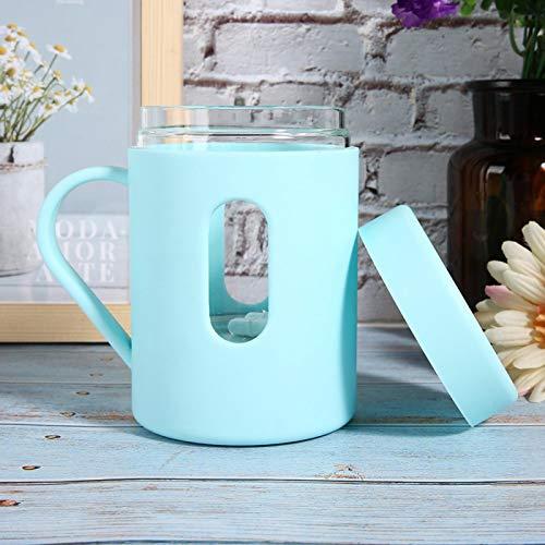 Hermosa taza agitadora automática de chocolate(blue)