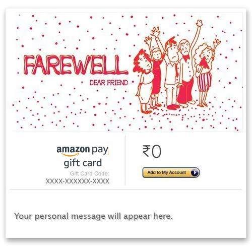 Natali Farewell Gift Scroll Card