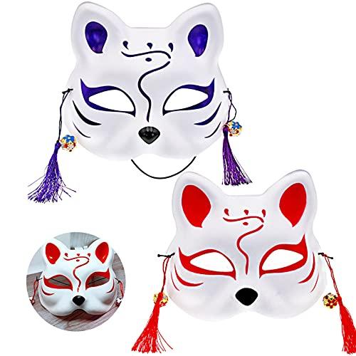 Máscaras de Gato Máscara de Media Cara Máscara de Cosplay Máscara de Zorro...