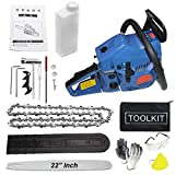 """ISC Eco Professional Gasoline Fuel 58CC Chainsaw Heavy Duty Chainsaw with 22""""Blade"""