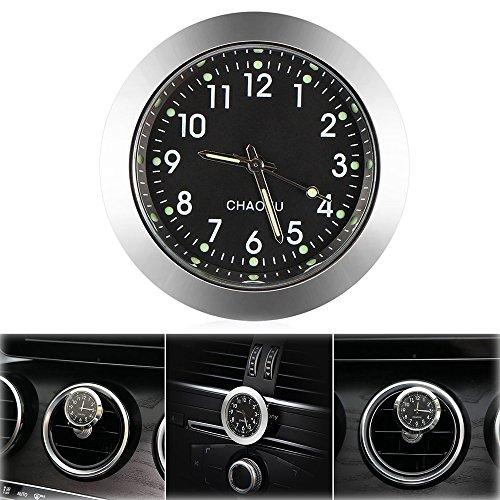 "ONEVER Auto Uhr, Auto Air Vent Quarzuhr Mini Fahrzeug Armaturenbrett Uhr, 1,7\""Durchmesser"