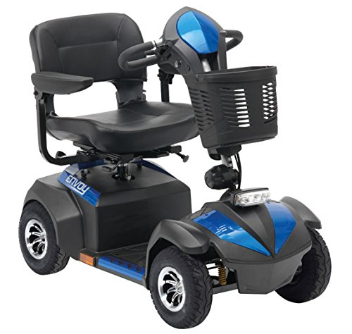 Drive DeVilbiss Envoy 4Scooter with Basket – Drive Medical Electric...