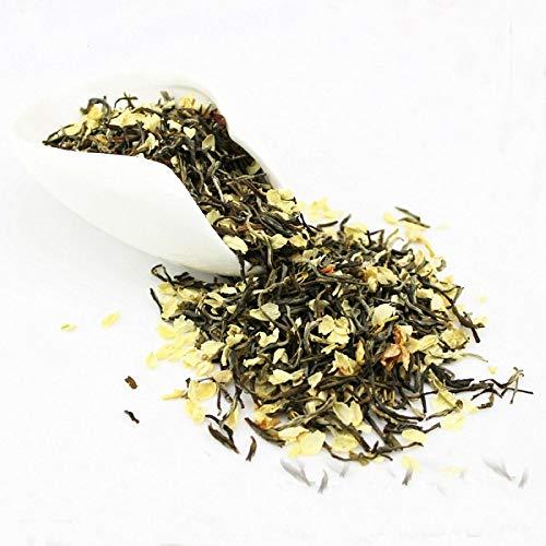Jazmín flores té verde jazmín copos té chino té verde flor de jazmín 50g (0.11LB) té de hierbas té perfumado Té de flores Té de hierbas té de hierbas Té crudo Té de flores