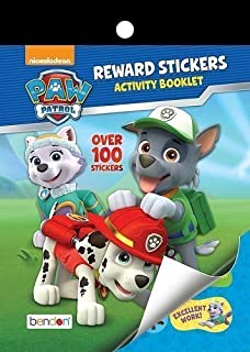 Paw Patrol Reward Stickers and Activity Booklet - Over 100 Stickers