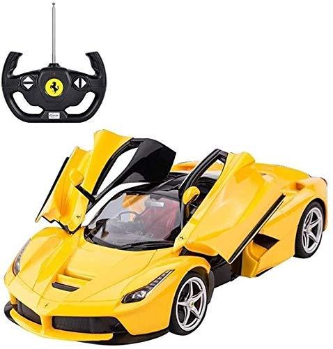 Coche teledirigido 01:14 deriva modelo de coche de juguete muchacho niño deportes de Radio control remoto de coches eléctricos de alta velocidad que compite con vehículos for los regalos de los niños