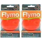 Flymo Genuine Contour 500XT 600HD 500 700 Strimmer Trimmer Testa cilindrica (FLY060, Confezione da...