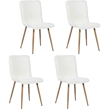 FURNISH1 Lot de 4 chaises de Salle a Manger de Style