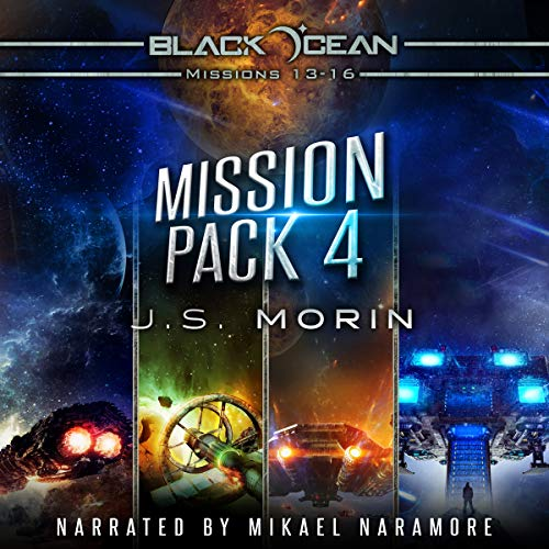 Black Ocean Mission Pack 4: Missions 13-16 audiobook cover art