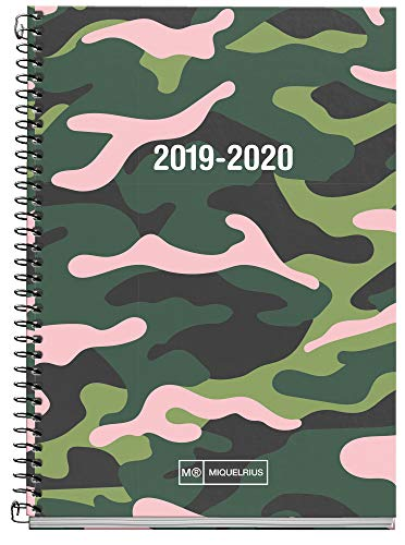 Miquelrius agenda escolar 2019 2020 semana vista Pink Jungle...