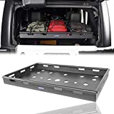 Seana Interior Cargo Luggage Carrier Rack Compatible with Jeep Wrangler JK & Unlimited 4 Doors (Exclude 2 Doors JK) 2007 2008 2009 2010 2011 2012 2013 2014 2015 2016 2017 2018