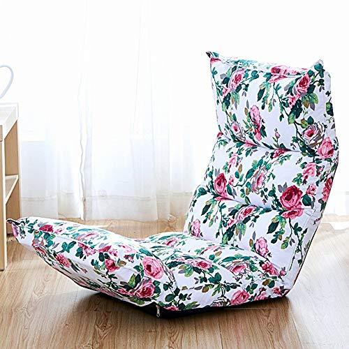 LIX-XYD Sillón reclinable Lazy Chair Plegables butaca Planta 5 Grados Ajustables balcón sillas Silla de Juego (Color: 006) (Color : 2)