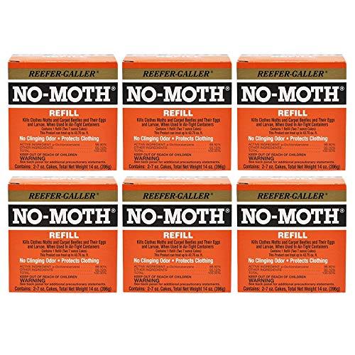 Reefer-Galler NO Moth Closet Hanger Refill Case of 6