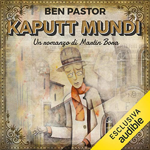 Kaputt Mundi audiobook cover art