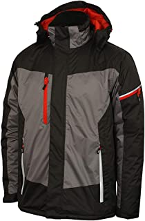 Lee Cooper Workwear LCJKT446 Mens Waterproof Windproof Breathable Work Safety Jacket With Reflective Detail