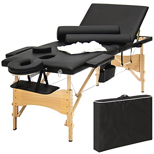Why Should You Buy Best Choice Products Portable 84 Tri-Folding Massage Table Bed Set With Cover- B...