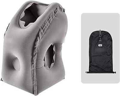 Amazon.com: SmartDer - Almohada hinchable de viaje, almohada ...