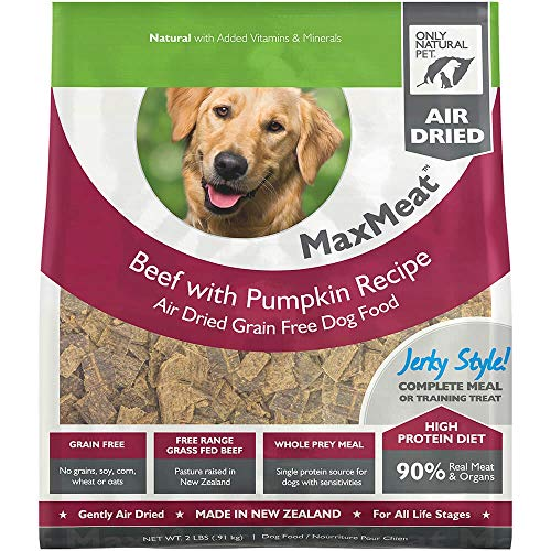 Only Natural Pet MaxMeat Holistic Grain-Free Air-Dried Dry Dog Food