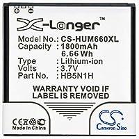 1800mah battery for CRICKET Ascend Q M660 for HUAWEI Ascend C8812 G300 G302D G309T M660 Phoenix T8828 U8680