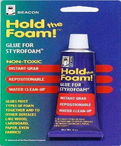 Beacon Hold The Foam Glue 2oz