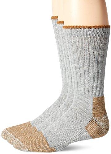FoxRiver Unisex-Erwachsene Wick Dry Steel-Toe Wool Crew Wandern, Socken, grau, X-Large